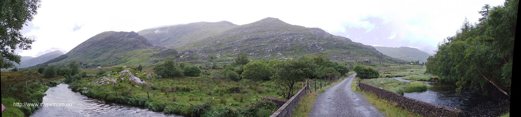 View from bottom of Black Valley, Co. Kerry.