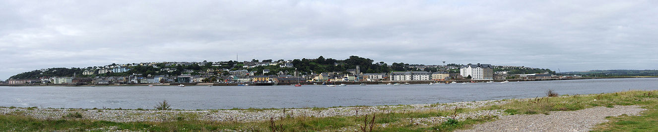 Panoramic photo of Youghal taken from Ferry Point, Co. Waterford.